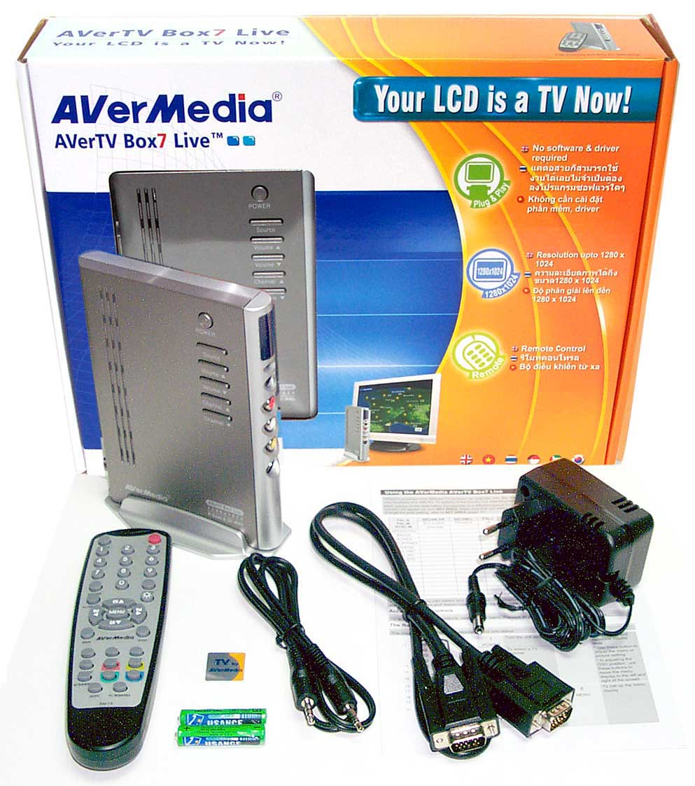 Avertv box7 live инструкция